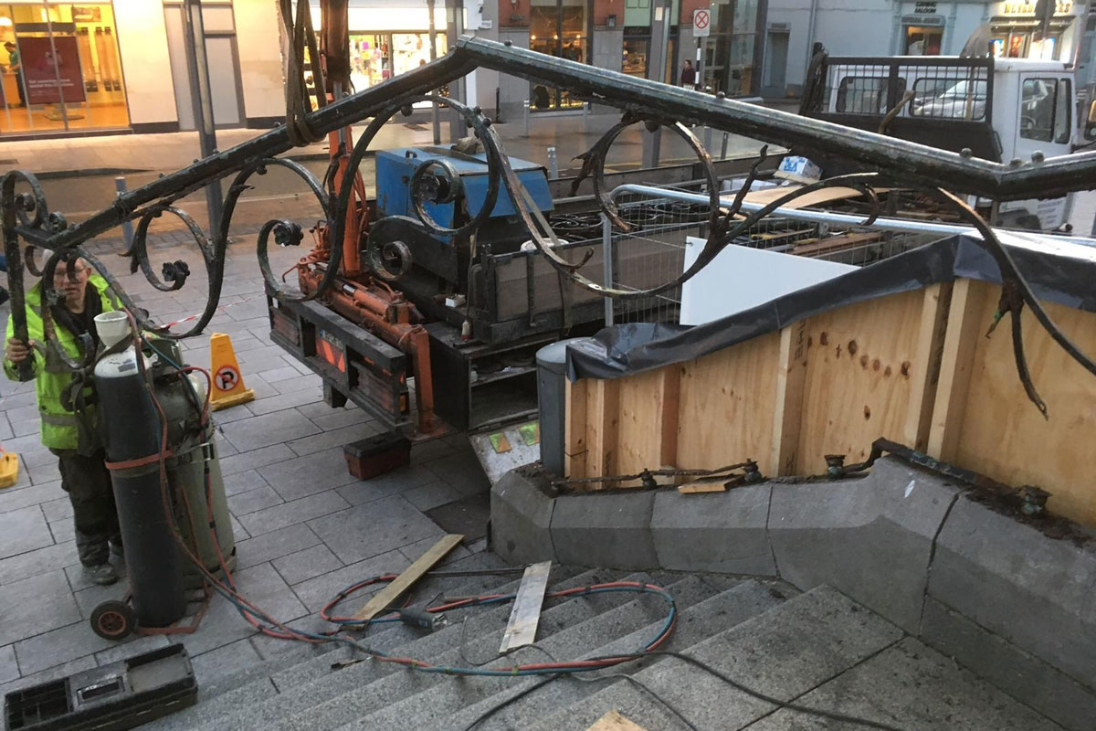 Restoration Rockforging Iron Crafts